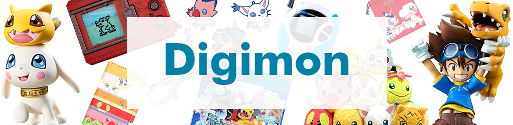 Comics, Anime Goods Digimon by Character