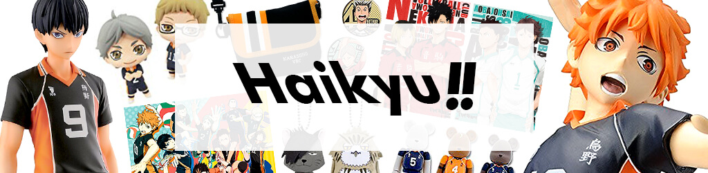 Comics, Anime Goods Haikyu!! by Category
