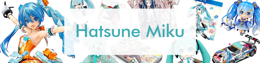 Comics, Anime Goods Hatsune Miku by Character