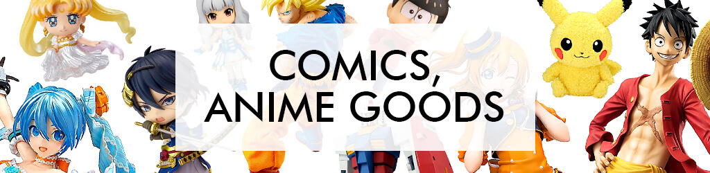 Comics, Anime Goods