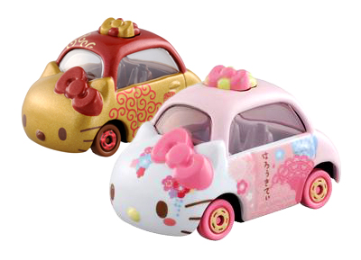 Tomica Hello Kitty Collection