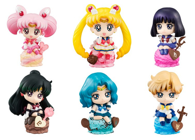 Puchi Chara Land: Sailor Moon Ice Cream Party