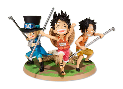 Figuarts ZERO Luffy/Ace/Sabo ~Promise of Sworn Brothers~