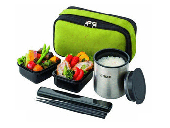 Bring meals to warm your heart TIGER Heat Retaining Lunch Box