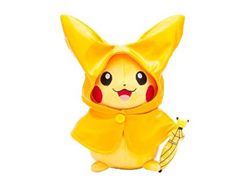 Pokemon Center Monthly Pikachu Raincoat Plush Toy