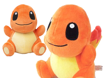 Pokemon Center Pokedoll Series Charmander Plush Toy