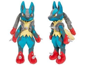 Pokemon Center Mega Lucario Plush Toy