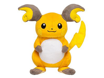 Pokemon Center Raichu Plush Toy