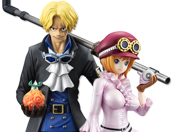 "ONE PIECE: ""Sailing Again"" Sabo and Koala 1/8 Figure"