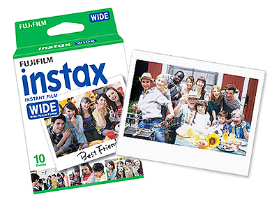 Instax WIDE Instant Color Film