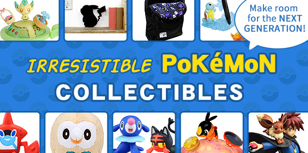 Make room for the next Pokemon generation! Our roundup of the newest Pokemon collectibles
